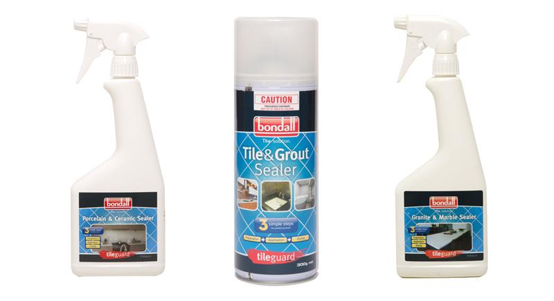 Tile Sealer Sprays