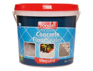 Sealing Concrete with Tileguard Concrete Floor Sealer