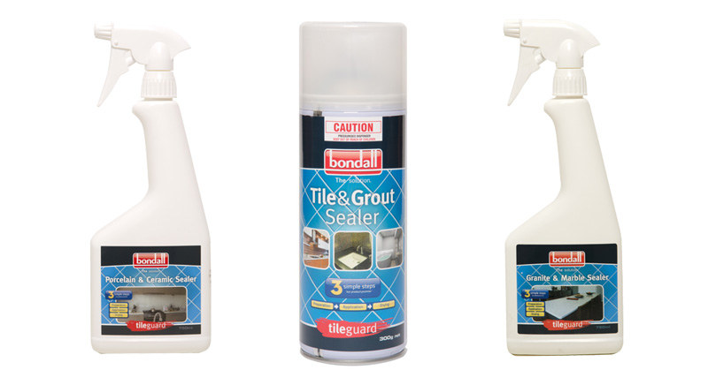 tileguard sealers and cleaners